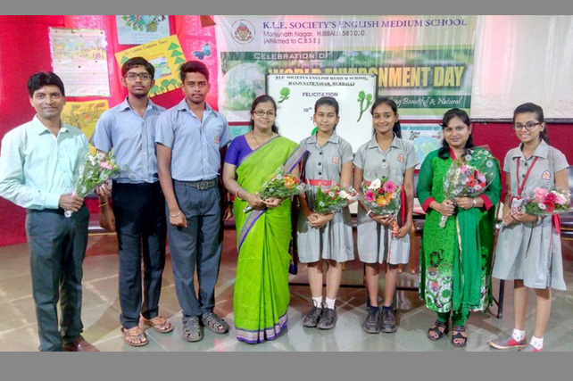Felicitation of X toppers 2017